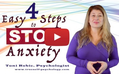 4 Easy Steps To Stop Anxiety