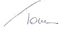 Toni short signature